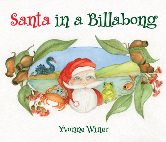 Santa in a Billabong